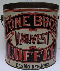 Tone Bros Harvest Coffee