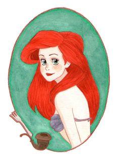 Ariel by Naineuh on deviantART