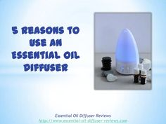 Extend the benefits of essential oils by diffusing them into your environment. Here are 5 reasons you should use an essential oil diffuser.