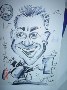 Caricaturists available to produce things like this. Amazing Drawing.