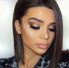 Go to make-up looks Eye Makeup, Kiss Makeup, Flawless Makeup, Glam Makeup, Makeup Tips, Hair Makeup, Glamorous Makeup, Makeup Ideas, Perfect Makeup
