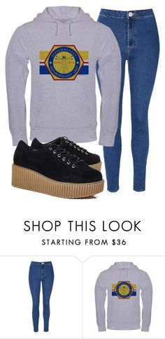 """""""Bones"""" by sarcastic-unicorn-13 on Polyvore featuring Glamorous and Boohoo"""