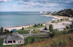 The Cove. A great beach in Goderich Ontario Canada.