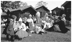 A well written piece about Sweden.  (Picture: A mid-summer festival featuring traditional Swedish dress and activities.)
