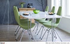 Mooie stoelen, maar misschien toch in een andere kleur :)