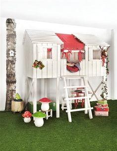 Ma cabane dans la forêt. Kids Factory