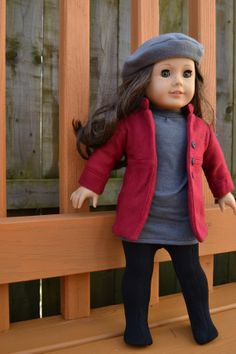 American Girl Doll Clothes  GARNET  January by camelotstreasures, $45.99