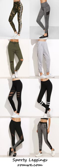 Sporty Leggings 2017 - romwe.com
