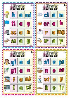 Blends Bonanza - teaching consonant blends $