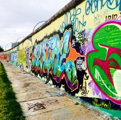 East Side Gallery in Berlin, Germany | Cruise To The Most Instagrammed Places On Earth | Azamara Club Cruises