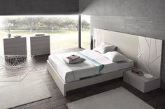 Dormitorios de la nueva colección de Guardia taller de muebles, Diseños modernos en una firma clasica dentro de los fabricantes de muebles Españoles, Calidad y experiencia en la fabricacion de muebles con una imagen renovada y funcional,