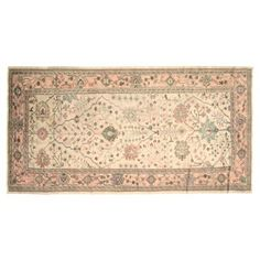 Check out this item at One Kings Lane! Oushak Rug, 12' x 6'