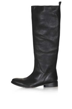 TOPSHOP: DANCER Riding Boots // Colour: BLACK - Item code: 32D04EBLK, size 5 or 6
