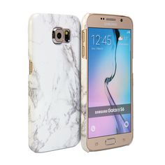 Cover Case Print Crystal (Marble Pattern) for Samsung Galaxy S6