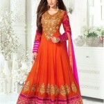 Today new fashion vogue team has deliberately decided to showcase the latest and most selling Long Anarkali Suits from the fashion house of Monalisa Sarees.