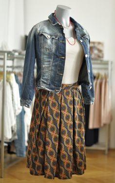 Midi Rock mit Ornamenten | Kleider machen Leute
