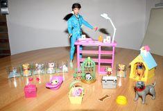 Barbie Tierarzt Pet Doctor Tierklinik Hund Spielset Puppen & Zubehör
