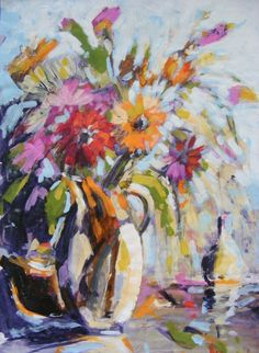 Lynette Cramb - Flowers in Jug