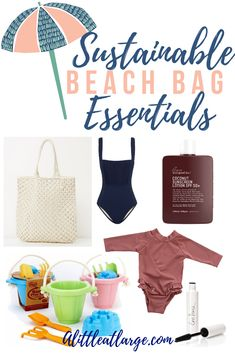 The ultimate list of summer essentials for your next beach day! Find clothes, sunscreens, beach-friendly makeup and the best sustainable beach toys for kids! Beach Bag Essentials, Gold Coast Australia, The Beach People, Green Toys, Beach Toys, Beach Reading, Recycle Plastic Bottles, What To Pack, Travel Gifts