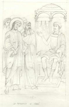 Viacrucis, condena a muerte de Jesús.