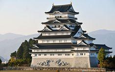 Echizen Katsuyama Castle Six Story, Japanese History, Museum Displays, Kanazawa, Castle House, Mountain Range, Japan Travel, Architecture, Attraction
