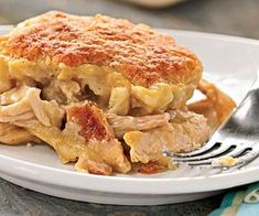 Moravian Chicken Pie Recipe from Emily Turkey Recipes, New Recipes, Chicken Recipes, Cooking Recipes, Favorite Recipes, Dinner Recipes, Dinner Ideas, Recipies, Czech Recipes