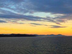 Sunset in San Tropez.