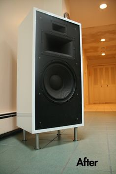 idea for the living room surround sound (paint it lazy bugger)