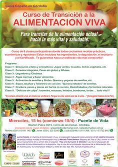 PORTAL TERAPIAS CORDOBA: curso de transicion a la alimentacion viva-cerro d...