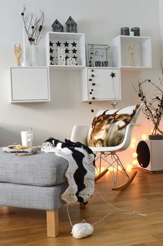 From within - NIB utfordring Decor Room, Sweet Home, Interiors, Bright, Living Room, Grey, Box, Homes, Gray