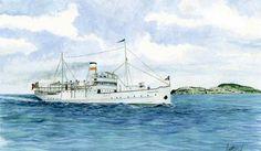 Anniversario affondamento Santa Lucia: Il comitato famiglie delle vittime a Ventotene con il Vesuvio jet