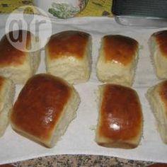 Pão caseiro simples @ allrecipes.com.br