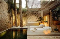 #Peaceful #serene #relaxing #contemporary #modern ...luv this space