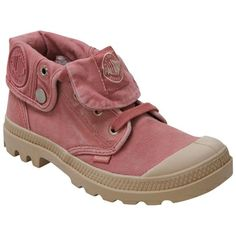 Pink Palladium Women's Baggy Low Pink Ankle Boot shoes