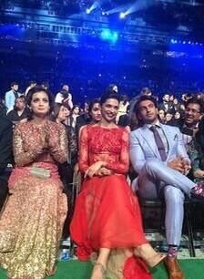 Ranveer Singh and Deepika Padukone at IIFA Awards