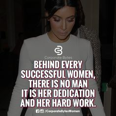 I think it is possible to have support wether this be a man or woman.  I also know women or a man can accomplish stuff on our own.