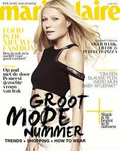 Gwyneth Paltrow for Marie Claire Netherlands March 2015