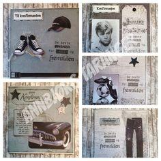 #Konfirmasjonskort #gutt I Card, Personalized Items, Projects, Log Projects, Blue Prints