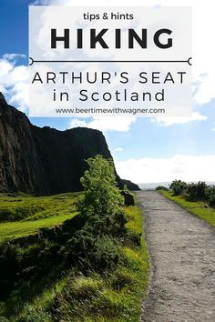 Take in the view of Edinburgh, Scotland while hiking Arthur's Seat. It gives a wonderful view of the entire city, including the castle and water, and makes you feel like you're on top of the world!
