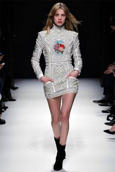 Paris Fashion Week: Balmain Fall / Winter 2012-2013 Collection (31)