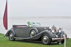 1934 Hispan-Suiza J12 Vanvooren Cabriolet