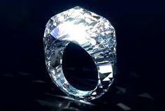 A 70-million-dollar diamond ring.
