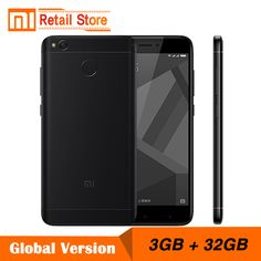"""Cheap mobile phone, Buy Quality 13.0 mp directly from China xiaomi redmi Suppliers: Global Version Xiaomi Redmi 4X 3GB 32GB Mobile Phone 4 X Snapdragon 435 Octa Core CPU 5.0"""" 13.0 MP 4100mAh Fingerprint ID"""