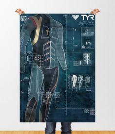 WET SUIT DESIGN by Joshua Caughman, via Behance