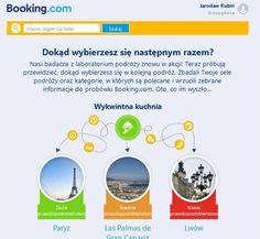 Jak portal turystyczny rekomenduje cele podróży? http://121marketing.pl/2014/03/booking-com-testuje-spersonalizowane-rekomendacje/
