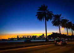 Miami Miami, Celestial, Sunset, Outdoor, Outdoors, Sunsets, Outdoor Games, The Great Outdoors, The Sunset