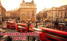 Londres 2017 - Pacotes CVC com Hotel + Passagens em promoção #londres #pacotes #cvc #viagens #pacotes2017