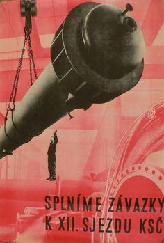 Poster, Czechoslovakia