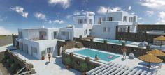 On adore cette très grande villa sur l'île de Mykonos !