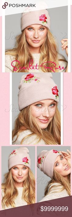 ❤️COMING SOON❤️ Rose Embroidered Beanies ❤️COMING SOON❤️ Rose Embroidered Knit Beanies in Blush, Gray, and Black! Pick your color or colors and stay warm and stylish during the upcoming cold months. These also make great gifts for your loved oneself the holidays. These are OS Fits All! These will be very reasonably priced. PRICE IS FIRM UNLESS BUNDLED. Let me know if you have any questions. Stay tuned for more details, and like or comment to be notified of arrival. Thanks for visiting…